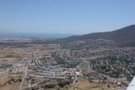 Alhaurín de la Torre - Detalle Vista aérea (Desde el noroeste)